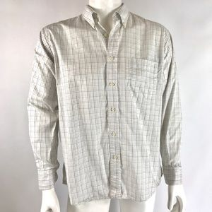 Christian Dior Dress Shirt Button Up Long Sleeve